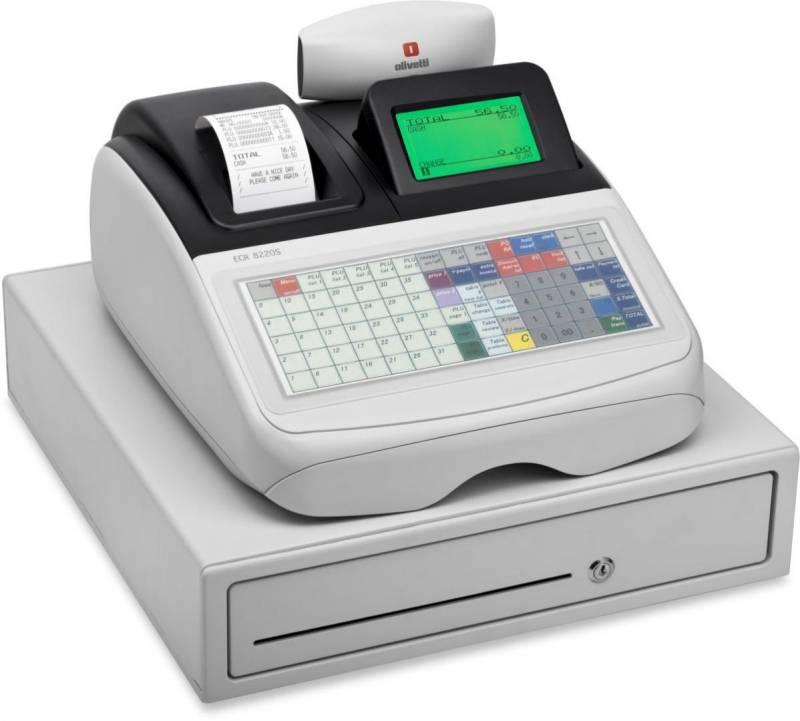 Kasseapparat Olivetti ECR 8220S