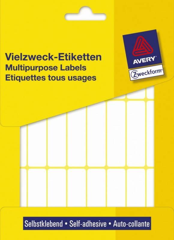 Image of   Etiket hvid 50x14mm 672stk/pak 3336