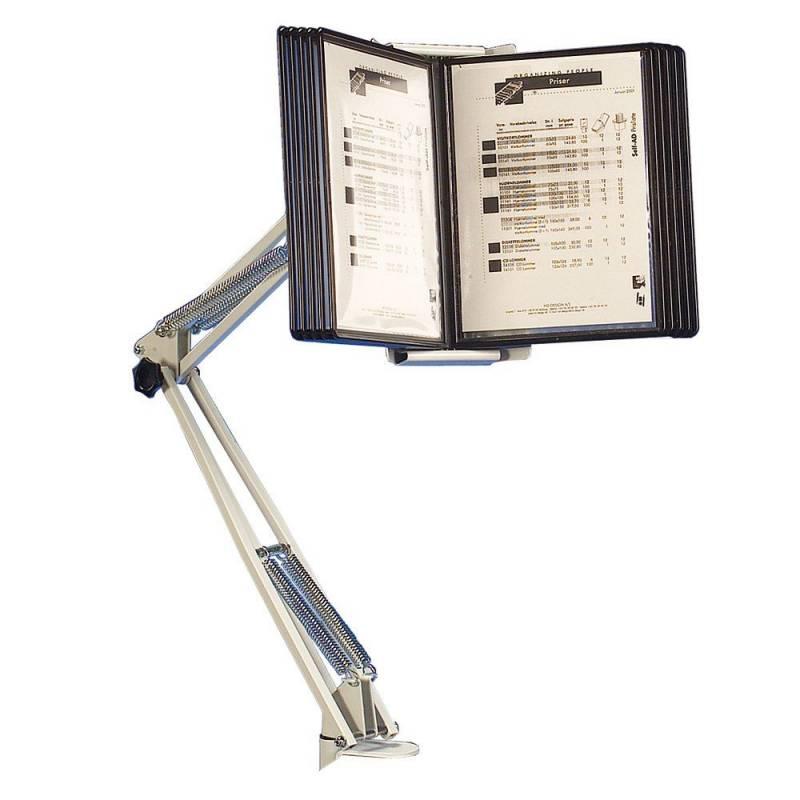 Billede af Registersystem HD A4 flexarm m/tvinge t/10 lommer SuperioR