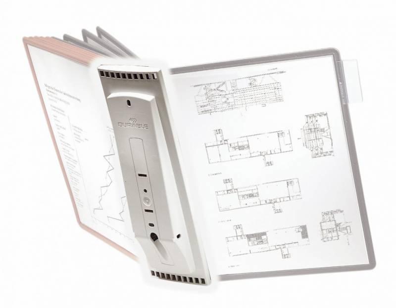 Billede af Registersystem Sherpa A4 udvidelse t/10 lommer u/lommer