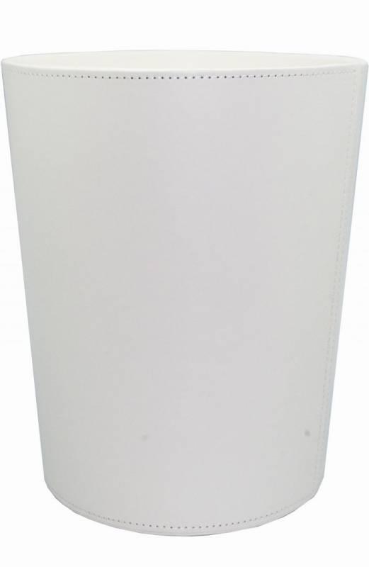 Billede af Papirkurv hvid kunstskind 225x270mm