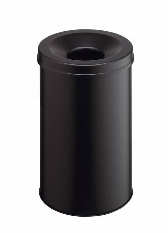 Billede af Papirkurv brandsikker SAFE 30 sort metal