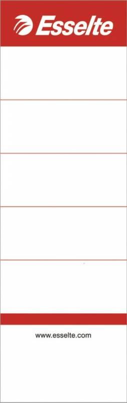 Rygetiket Esselte brevordner bred lang udgave 100stk/pak