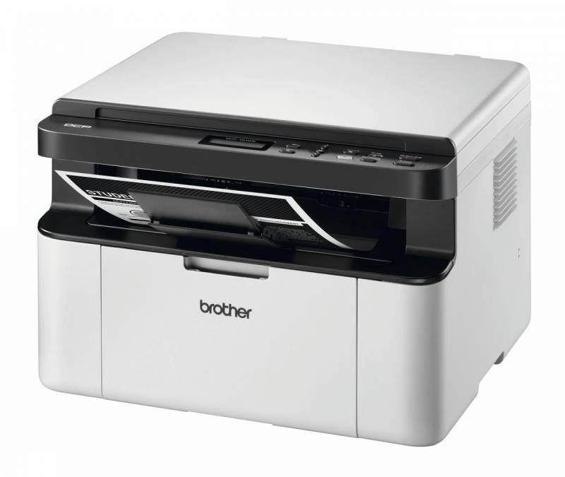 Alt-i-én Brother DCP1610W s/h laserprinter m/Wi-Fi