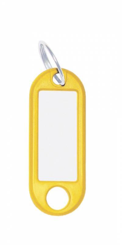 Nøglering m/vedhæng Wedo gul