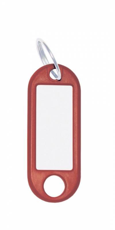 Image of   Nøglering m/vedhæng Wedo rød