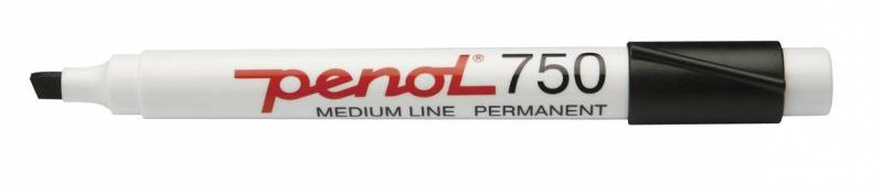 Image of   Marker Penol 750 sort 2-5mm