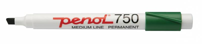 Image of   Marker Penol 750 grøn 2-5mm