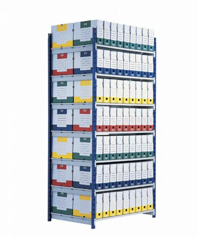 Image of   Reol Shelving Rangeco Paper- flow startkit 200X100X70cm
