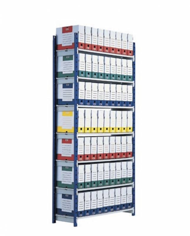Image of   Reol Shelving Rangeco Paper- flow startkit 200X100X35cm