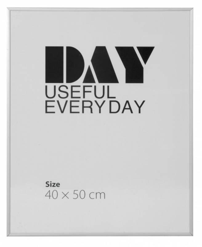 Image of   Ramme aluminium/plexi. 40x50cm