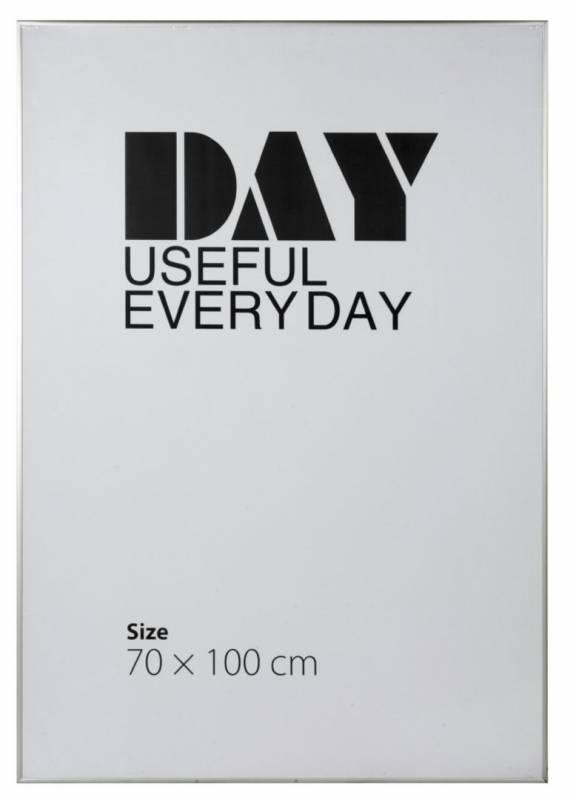 Image of   Ramme aluminium/plexi. 70x100cm