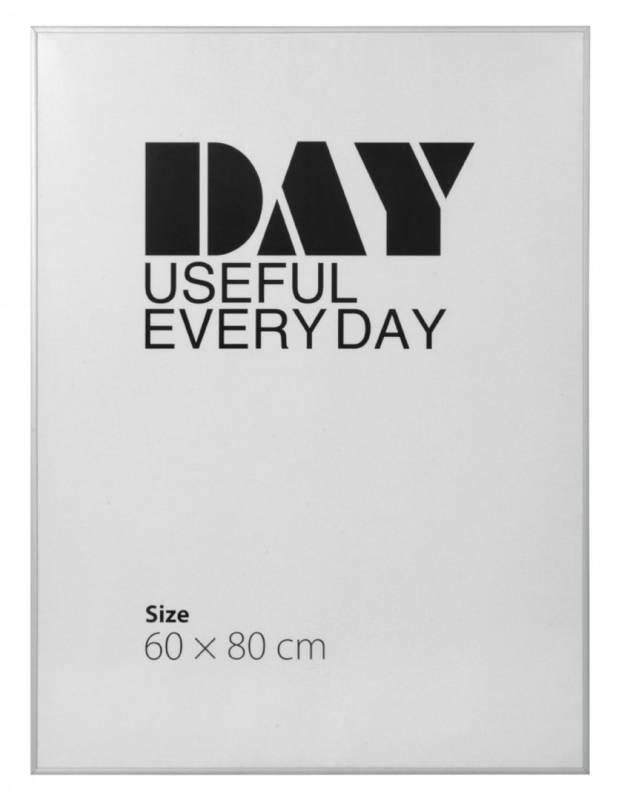 Image of   Ramme aluminium/plexi. 60x80cm