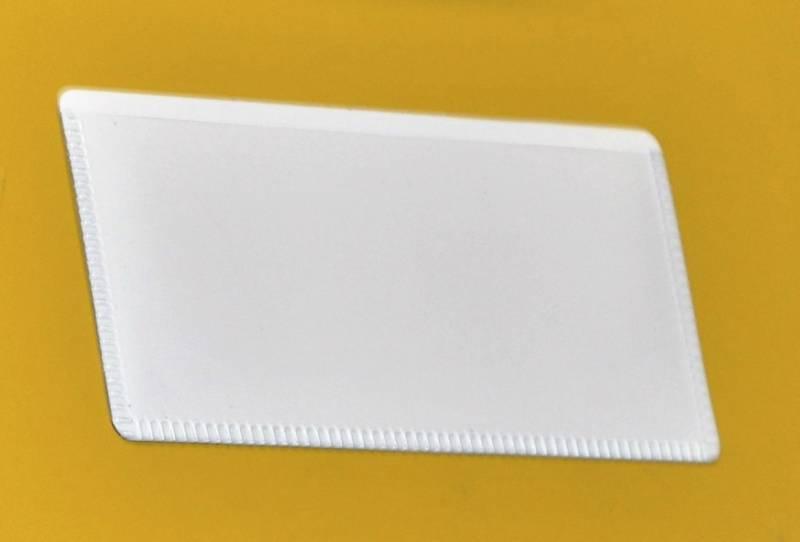 Image of   Magnetlomme 5x10cm flad åben liggende 50stk/pak