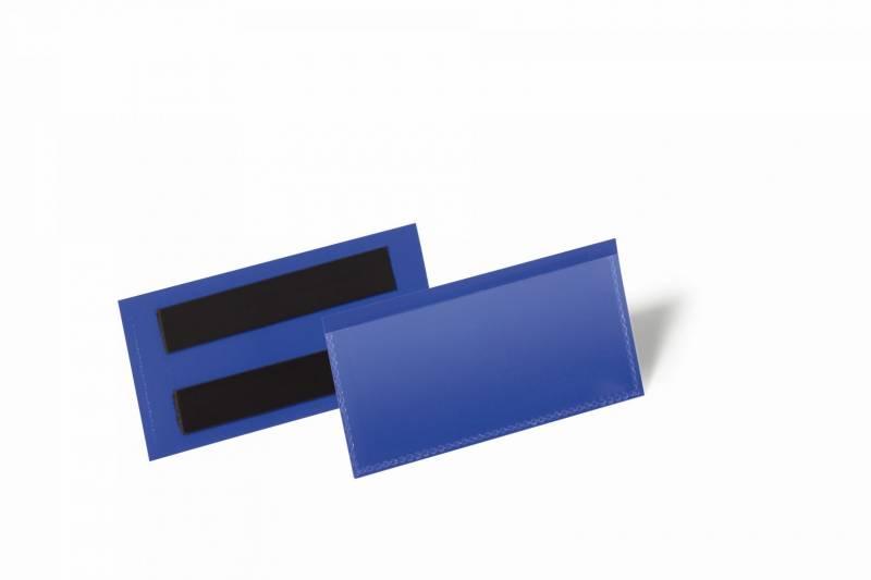 Billede af Hyldeforkant m/magnet blå 100x38mm