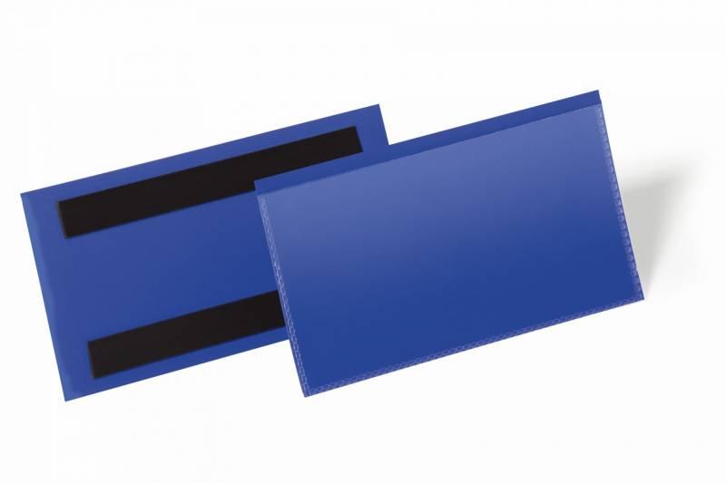 Image of   Hyldeforkant m/magnet blå 150x67mm