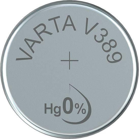 Batteri Varta ur V389 SR54 1,55V 85mAh 1stk/pak