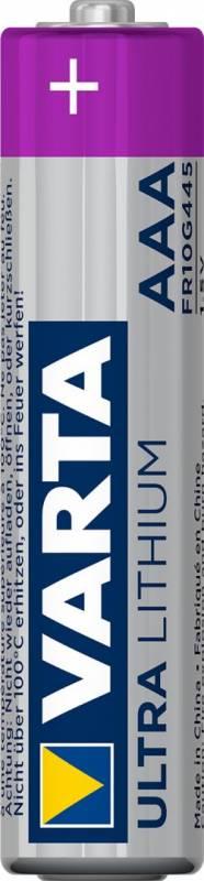 Image of   Batteri Varta Lithium PRO 6103 LR 3 AAA 4stk/pak