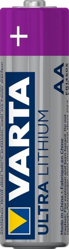 Image of   Batteri Varta Lithium PRO 6106 LR 6 AA 4stk/pak