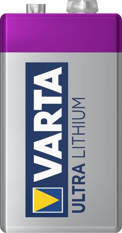 Image of   Batteri Varta Lithium 9V 1stk/pak