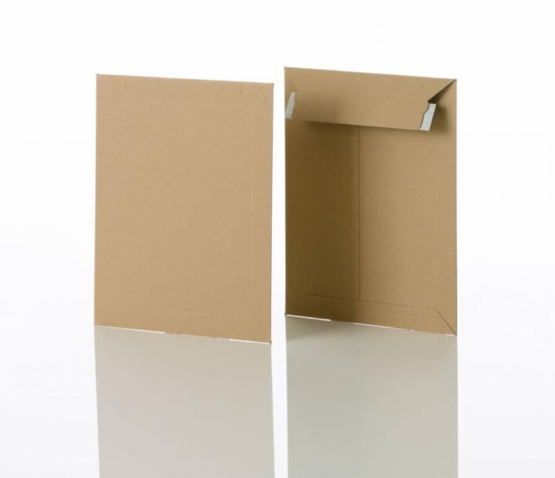 Image of   Konvolut kartonpose 2 brun t/A5 210x265/215x270mm brun 100stk/pak