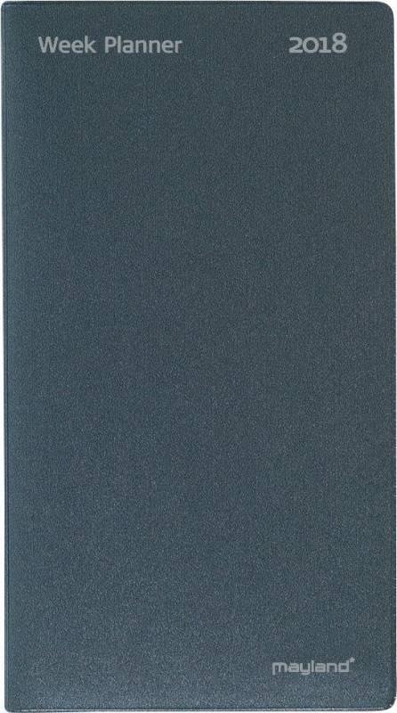 Billede af Indexplanner vinyl grå 9x17cm 18 0810 00
