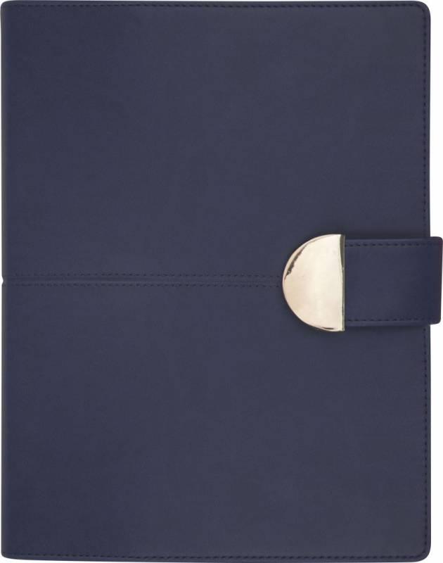Billede af Timekalender kunstlæder blå 17x23,5cm 1 dag/side 18 2183 10