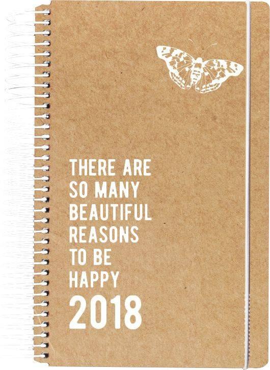 Billede af Minispiralkalender Eco natur 8x13cm 1dag/side 18 2665 10