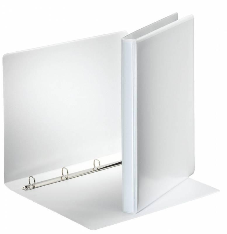 Image of   Hobbymappe Esselte 15mm hvid 4-rings D-mekanisme 49700