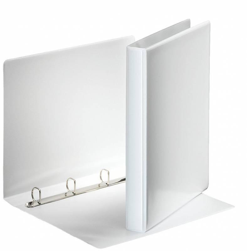Billede af Hobbymappe Esselte 20mm hvid 4-rings D-mekanisme 49701