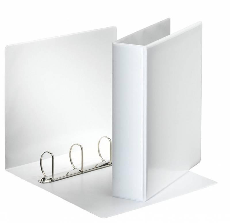 Hobbymappe Esselte 50mm hvid 4-rings D-mekanisme 49705