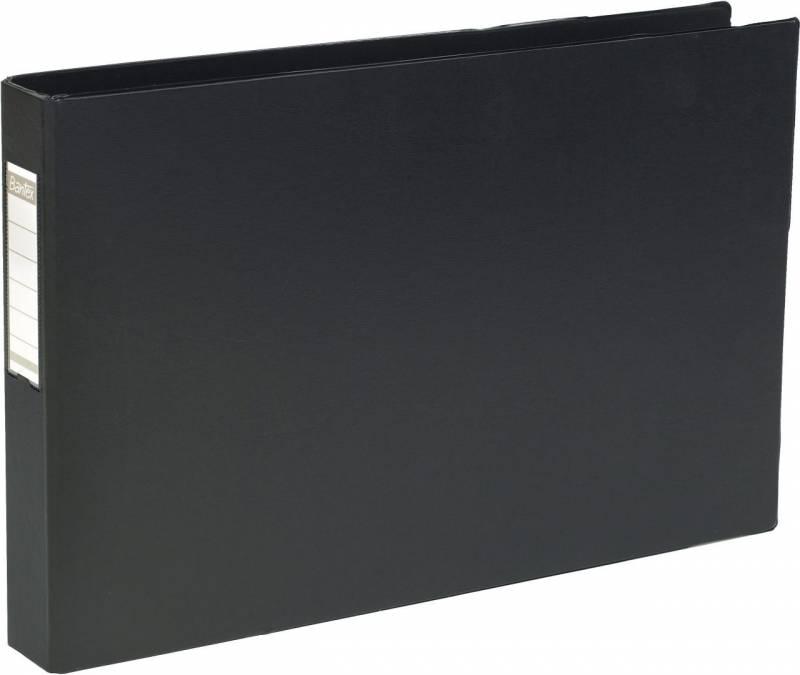 Billede af Ringbind ELBA 30mm 4-rings D-mek. sort A3 tværformat 1268