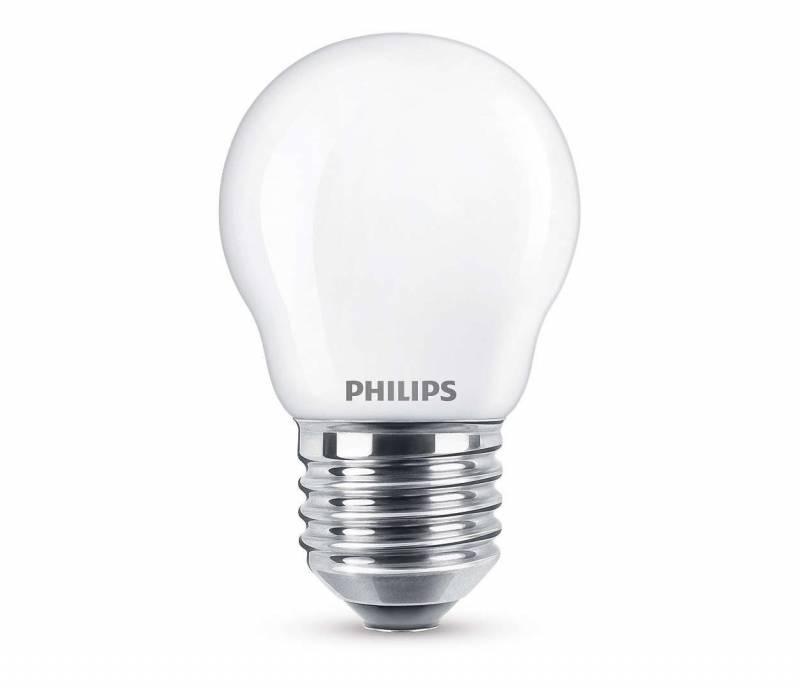 Pære LED krone 4,3W (40W) E27 varm hvid P45 E27 WW FR ND SR