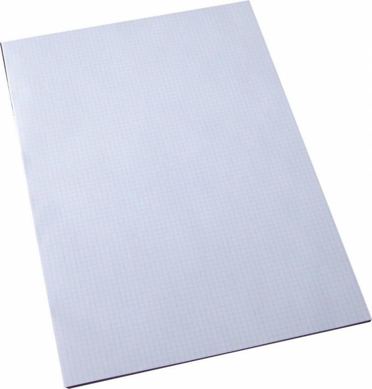 Billede af Standardblok kvadr 60gr. hvid u/huller A3