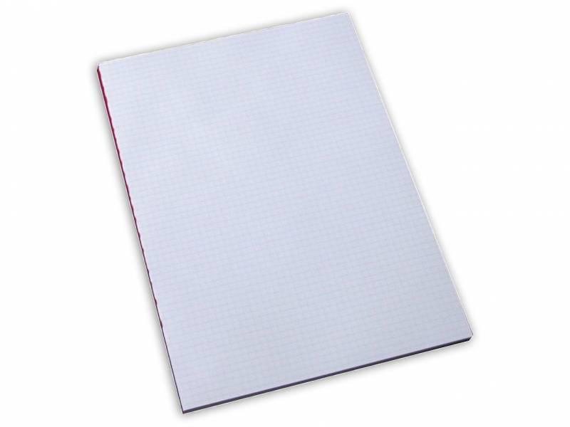 Billede af Standardblok u/huller kvadr. 60g hvid A4