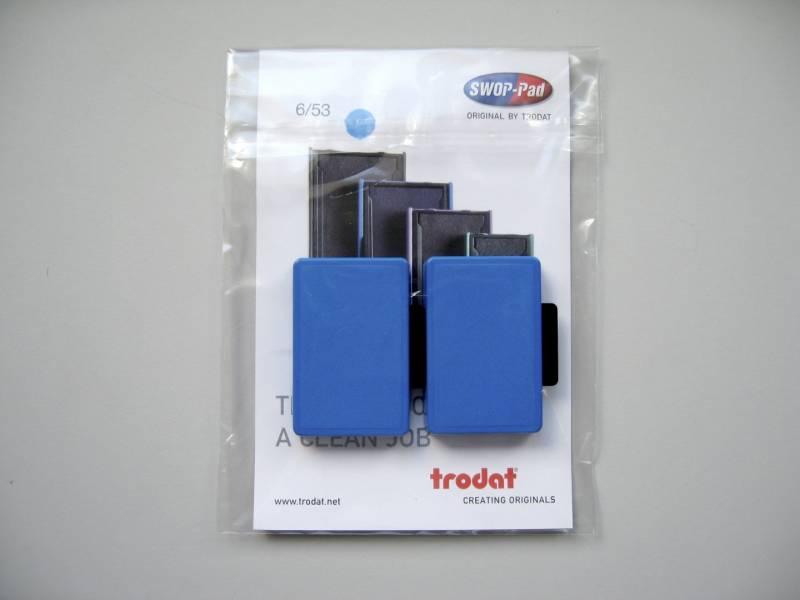 Stempelpude Trodat blå 2-pack 5203/5440/5253 m.fl 6/53