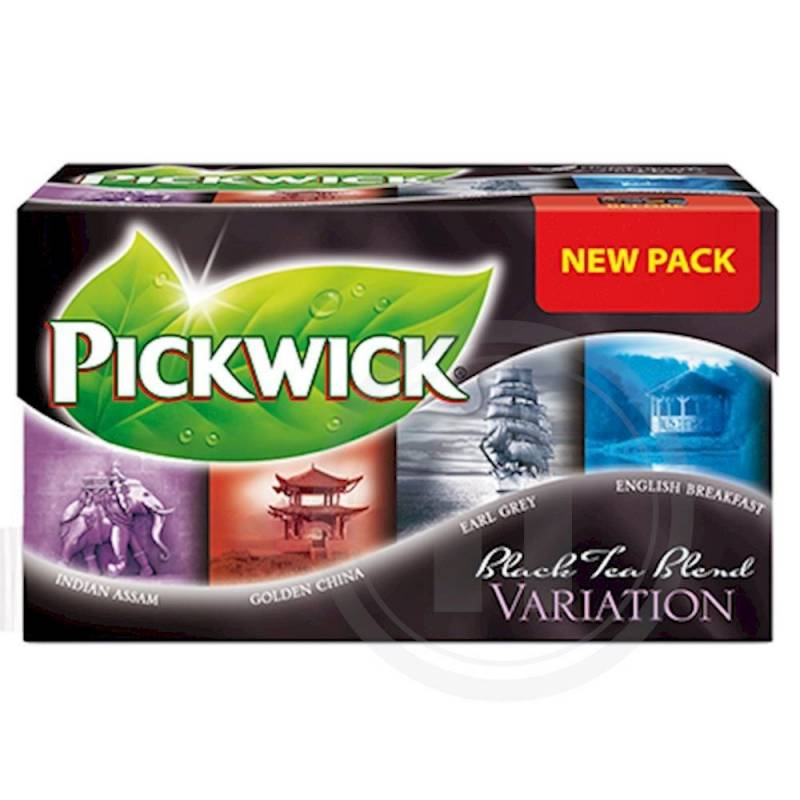 Image of   Te Pickwick Black 20breve/pak