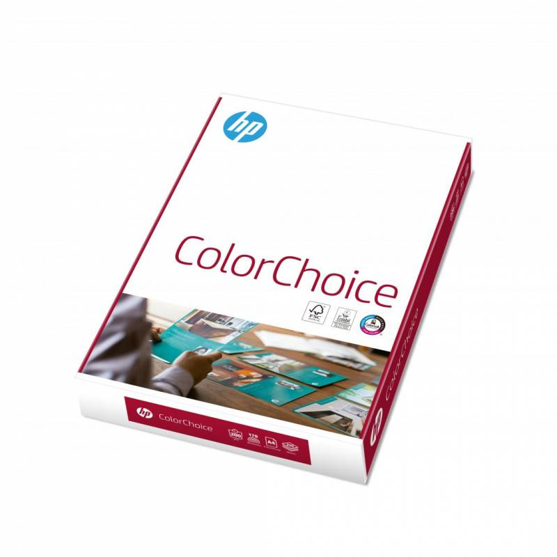 Kopipapir HP Color Choice A4 200g CHP755 250ark/pak