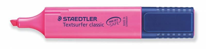 Tekstmarker STAEDTLER 364 pink Textsurfer Classic inkjet
