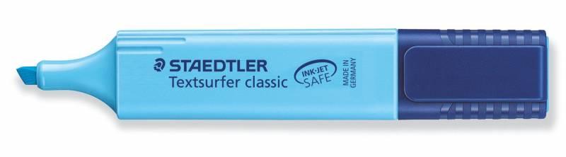 Tekstmarker STAEDTLER 364 blå Textsurfer Classic inkjet