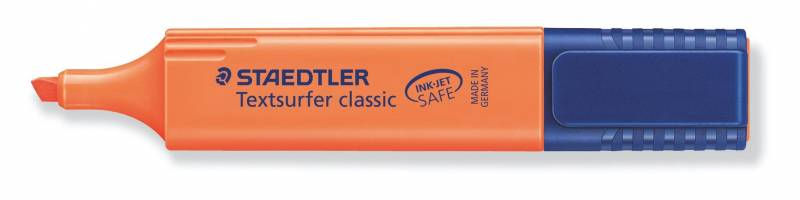 Tekstmarker STAEDTLER 364 orange Textsurfer Classic inkjet