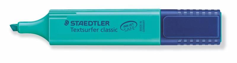 Tekstmarker STAEDTLER 364 turkis Textsurfer Classic inkjet