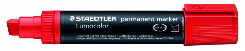Image of   Marker Lumocolor permanent rød 2-12mm 388