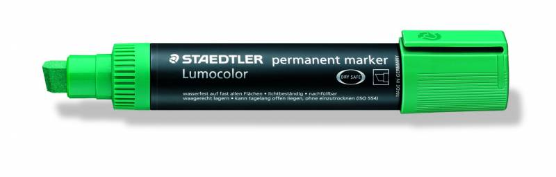 Marker Lumocolor permanent grøn 2-12mm 388