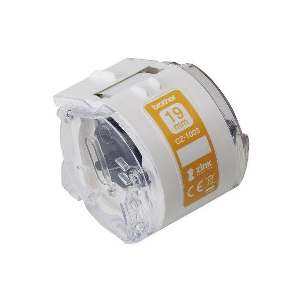 Image of   Labeltape Brother hvid 19mmx5m CZ-1003
