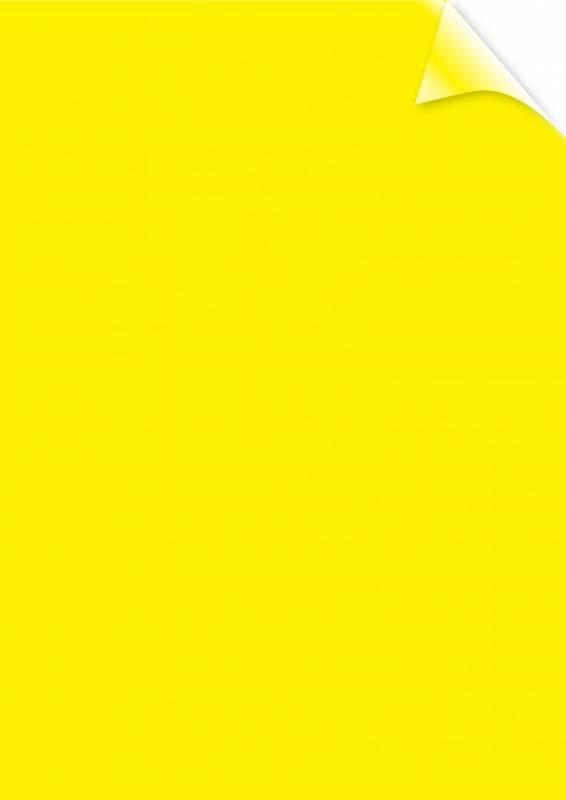 Image of   Plastforside til indbinding Fellowes A4 200mic transparent gul PVC 100stk/pak