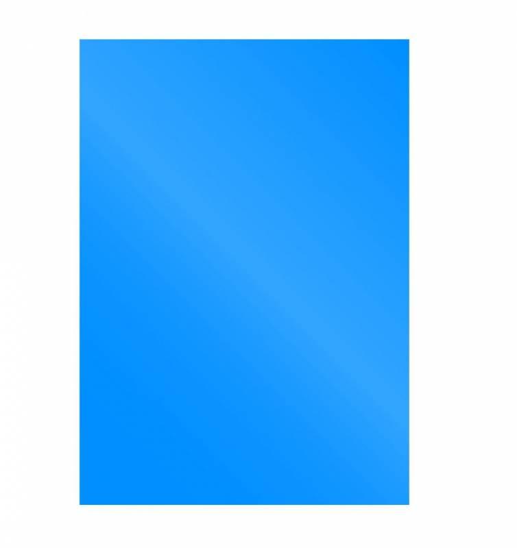 Image of   Kartonforside til indbinding Fellowes A4 250g blå Cromolux 100stk/pak