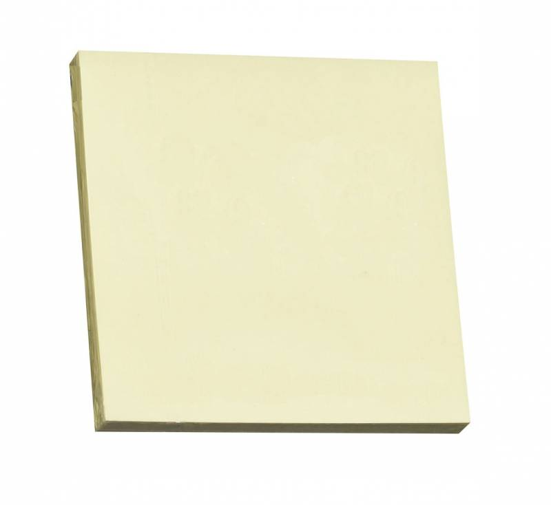 Image of   Notes Q-line Stick'N gul 76x76mm 100blade 12stk/pak
