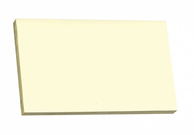Image of   Notes Q-line Stick'N gul 76x127mm 100blade 12stk/pak
