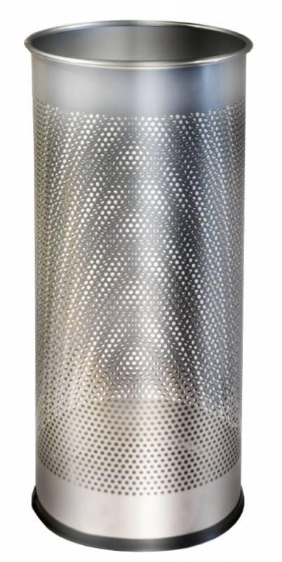 Image of   Paraplystand TWIN Metal sølv 28,5L Ø:27xH:59cm